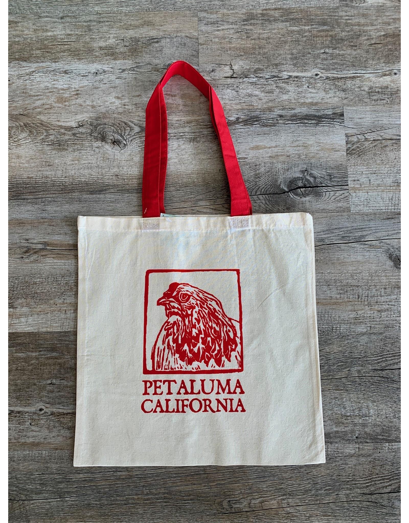 Blockhead Press Petaluma - Chicken Tote