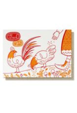 Paper Parasol Press Thank You Chickens Card
