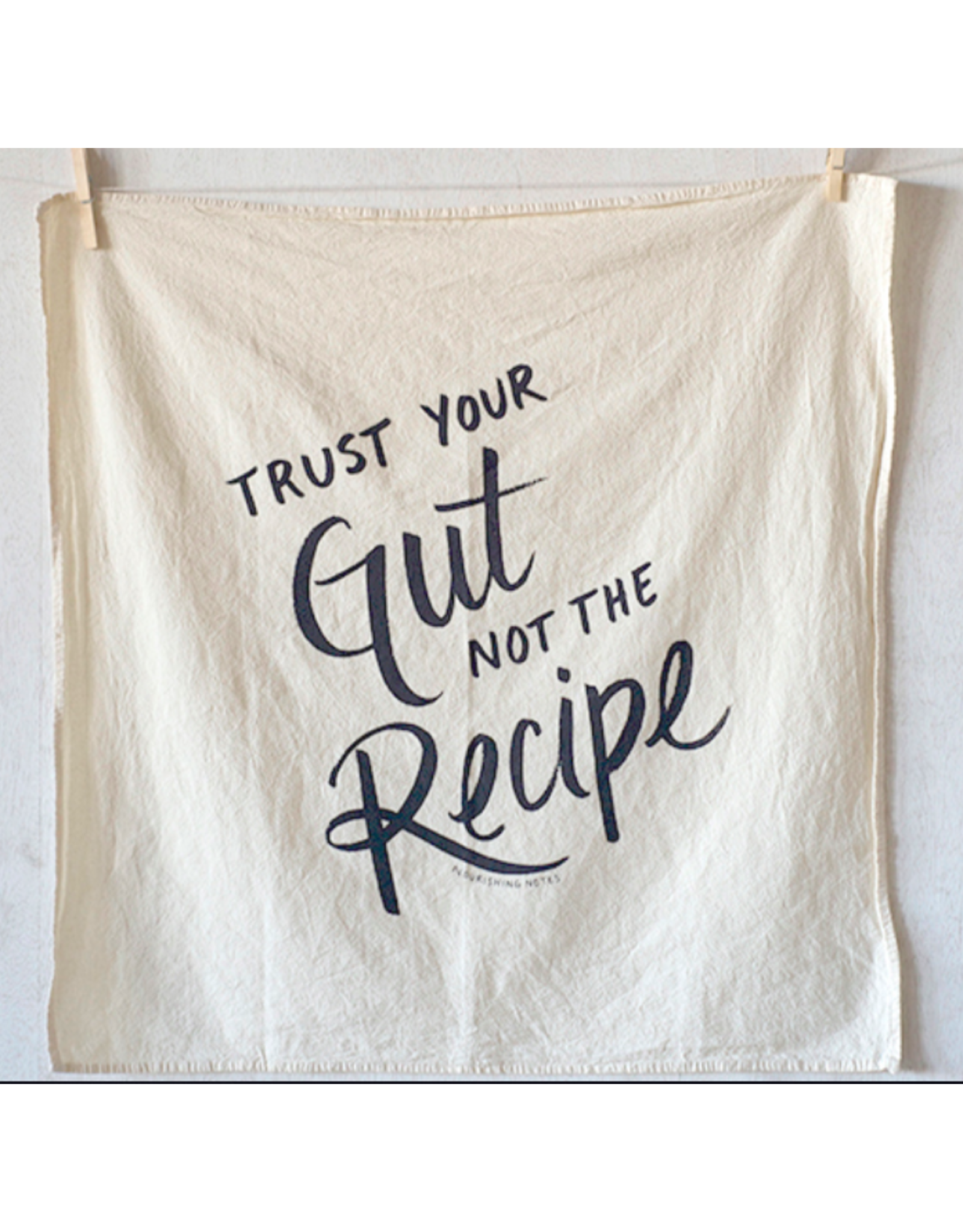 Nourishing Notes Towel: Trust