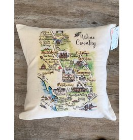 Gooseberry Press Wine Country Pillow