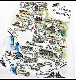Wine Country Tea Towel