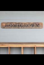 Homegrown Roadside Sign
