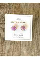 JaxKelly Amethyst Prong