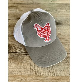 Blockhead Press Petaluma Chicken Hat - Stone