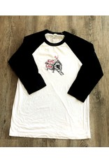 Blockhead Press Keep to the Coop Unisex Raglan