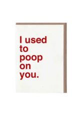 Sad Shop Sad Shop Card - Poop