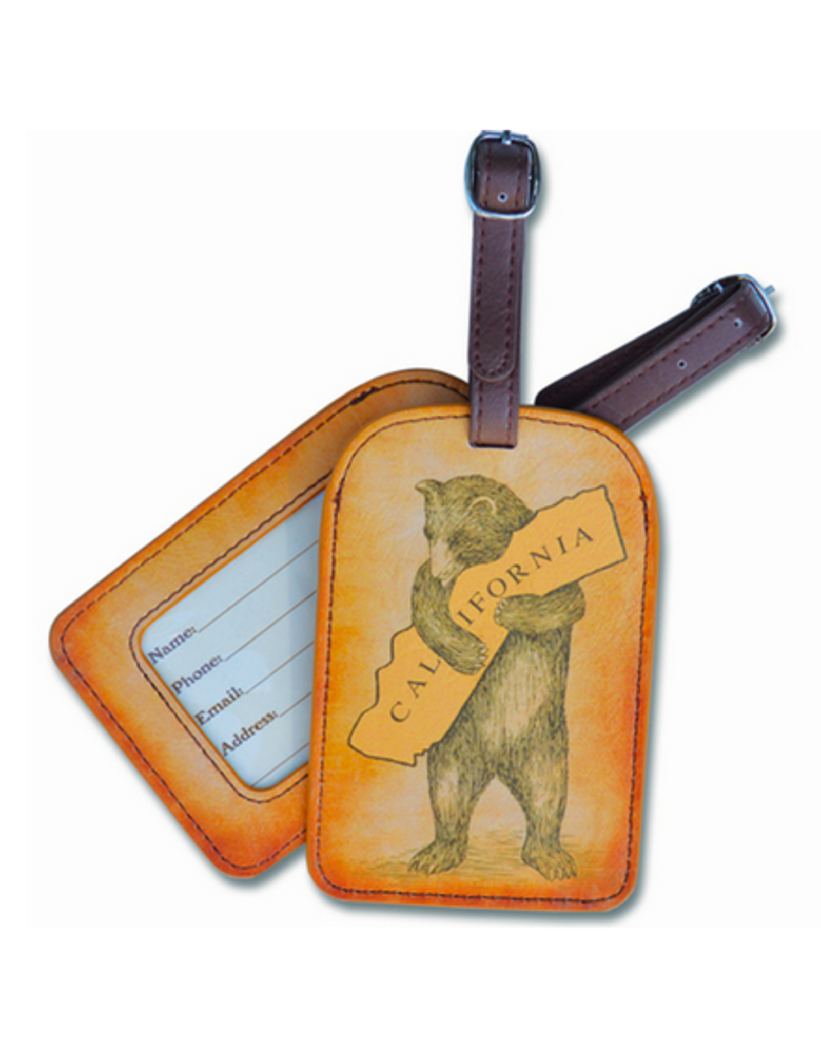 SF Mercantile California Bear Luggage Tag