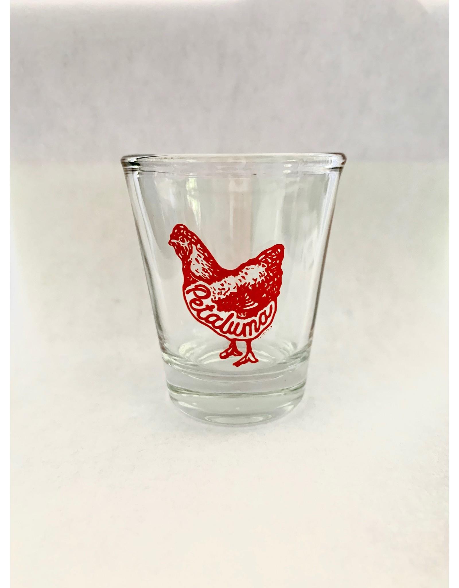 Blockhead Press Petaluma Shot Glass