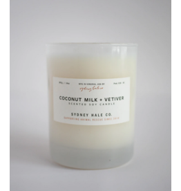 Sydney Hale Co. Clear Glass - Coconut Milk & Vetiver