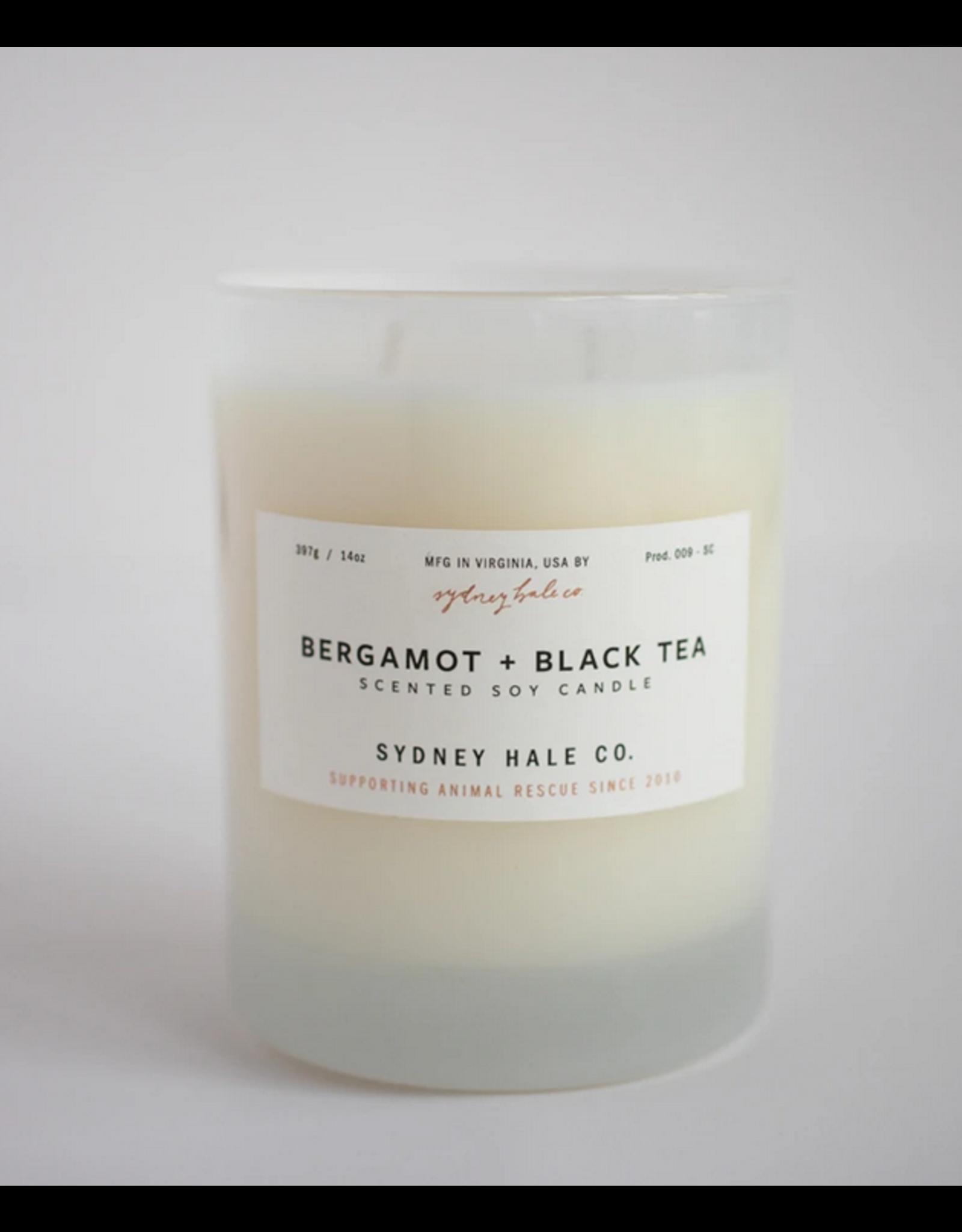 Sydney Hale Co. Clear Glass - Bergamot & Black Tea