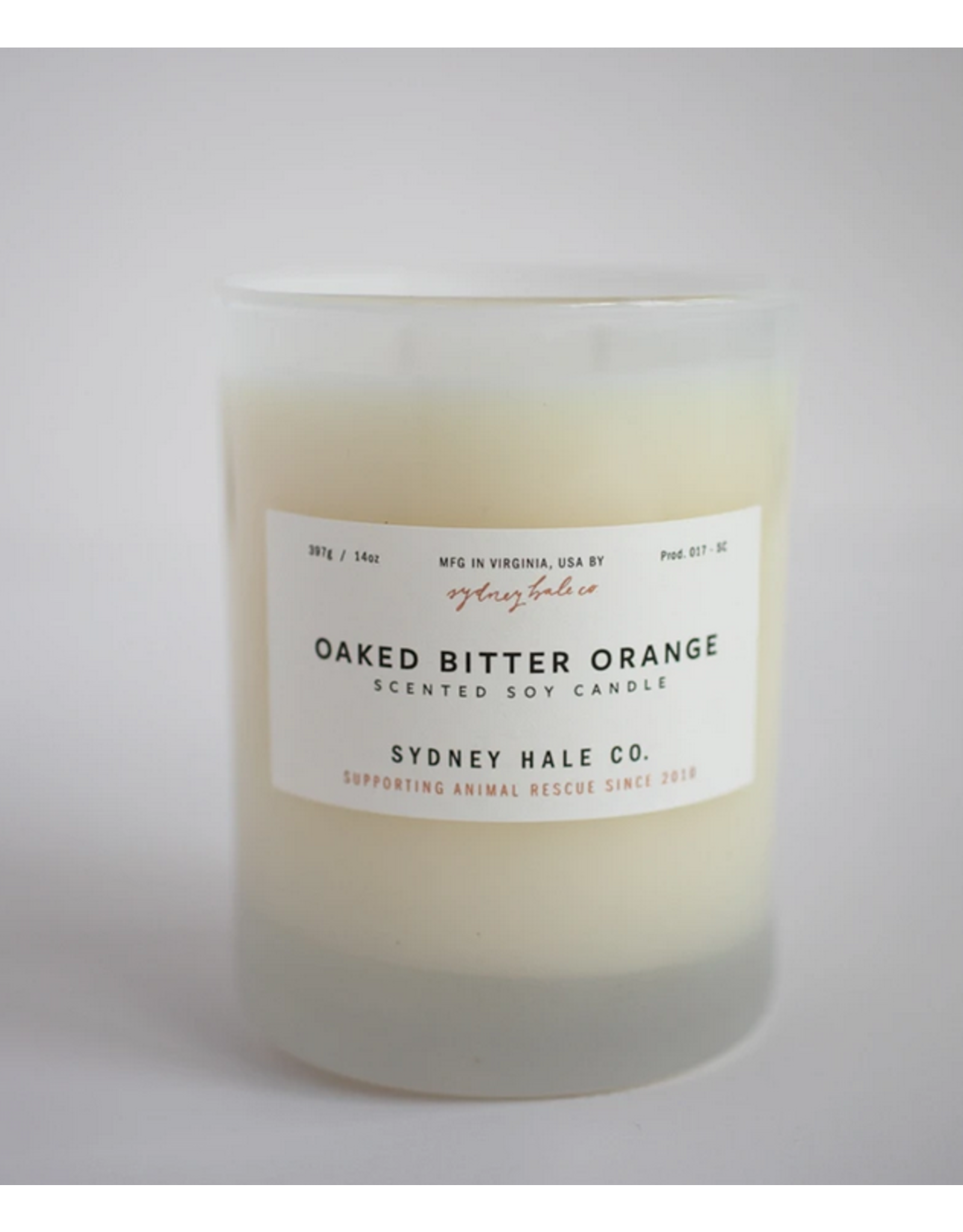Sydney Hale Co. Clear Glass - Oaked Bitter Orange