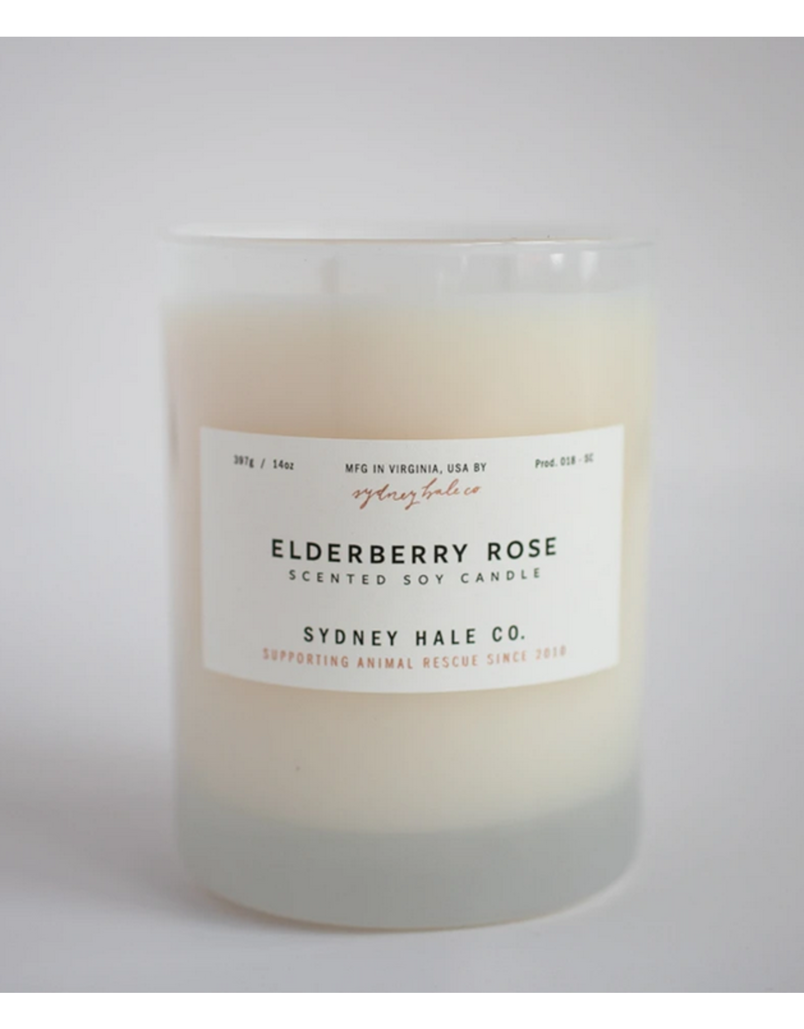 Sydney Hale Co. Clear Glass - Elderberry Rose