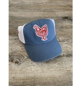 Petaluma Chicken Hat - Indigo