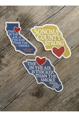 Blockhead Press Sonoma Cali Strong Decal Set