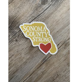 Blockhead Press Sonoma Strong Decal