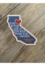 Blockhead Press California Love Sticker