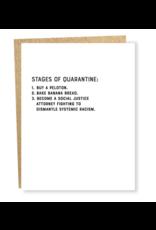 Sapling Press Quarantine - Stages