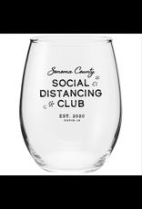 SOCO Social Distancing Wine Glass (17 oz)