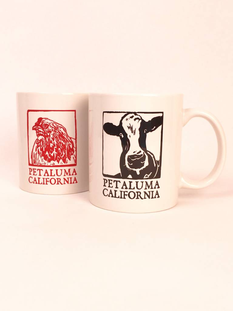 Blockhead Press Petaluma Mug - Blockhead Chicken