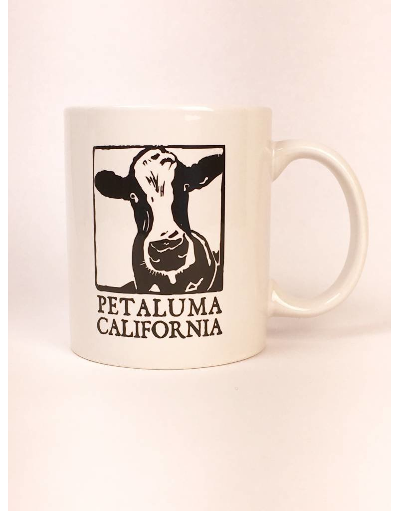Blockhead Press Petaluma Mug - Blockhead Cow
