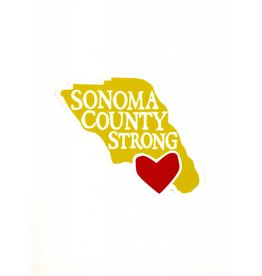 Blockhead Press Sonoma Strong - Small Magnet