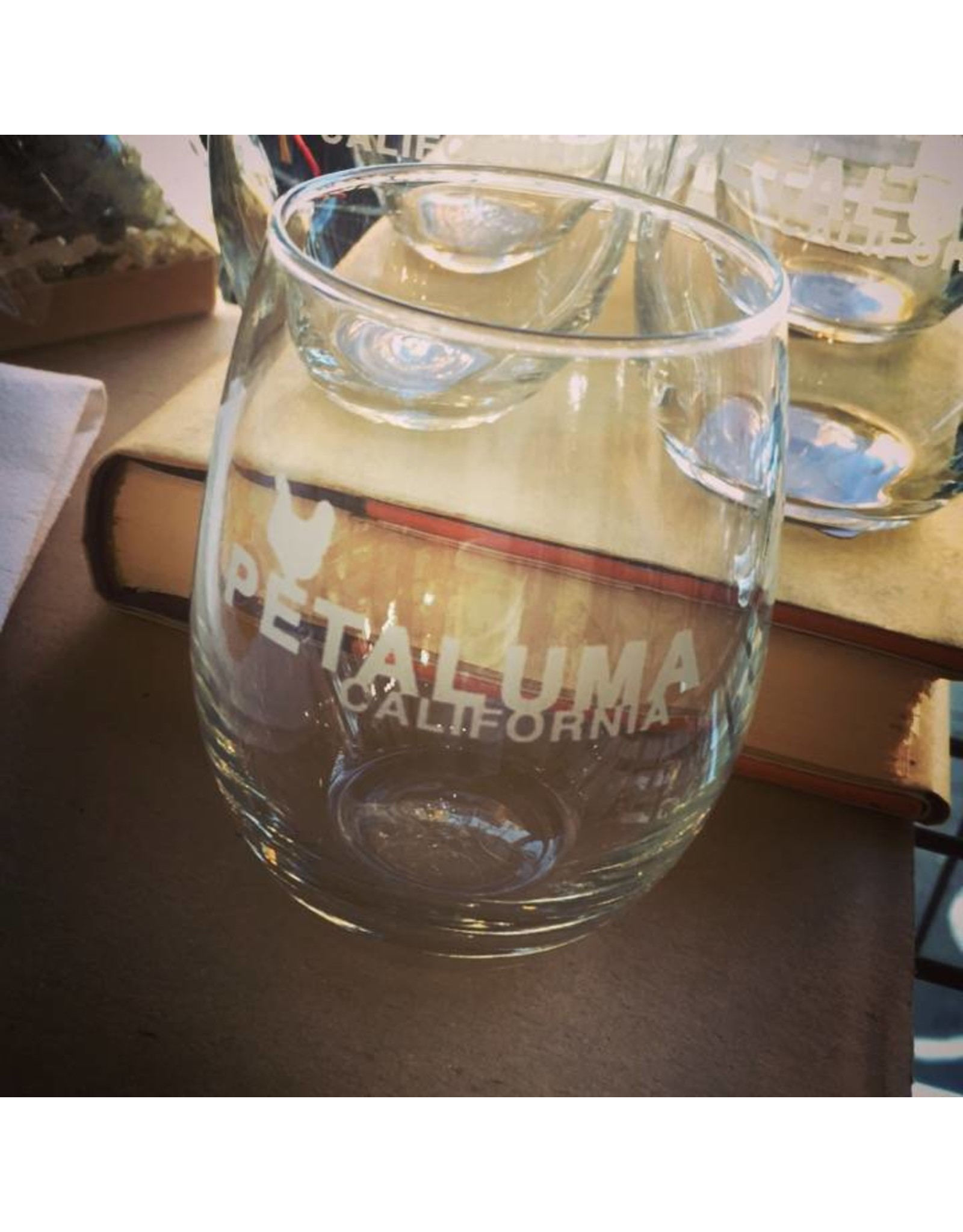 Stemless Wine Glass (9 oz.) - Petaluma