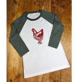 Blockhead Press Petaluma Baseball Jersey T Shirt -