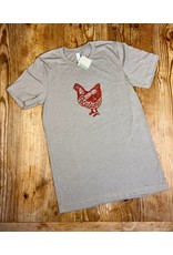 Blockhead Press Petaluma Chicken Unisex T-Shirt