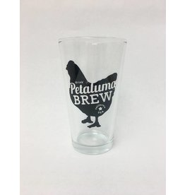Petaluma Brew Pint Glass