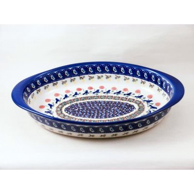 Blue Bird Oval Baker - Med