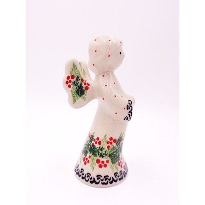 "CA  Holly Berry 4"" Angel"