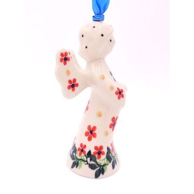 "CA Cherries Jubilee 3 1/2"" Angel Ornament"