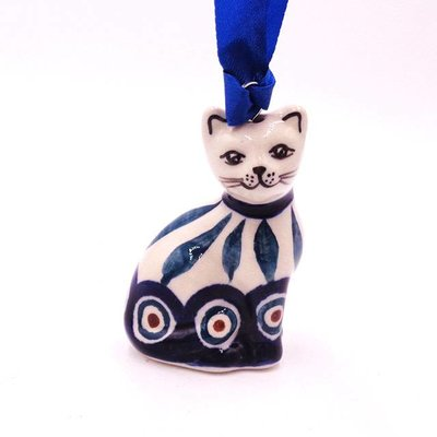 Peacock Cat Ornament