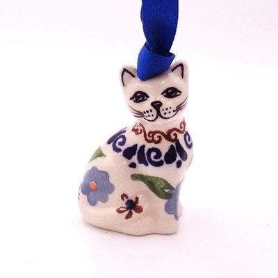 Zo Girl Cat Ornament