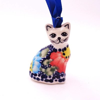 Gypsy Jazz Cat Ornament