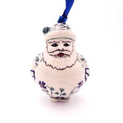 Rhine Valley Santa Ornament