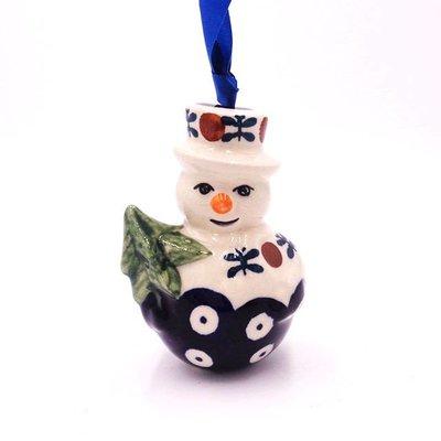 Mosquito Snowman Ornament