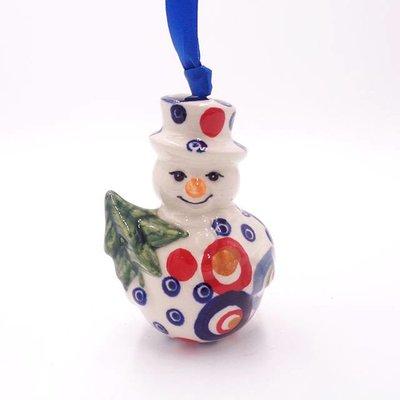 Ohhh! Snowman Ornament