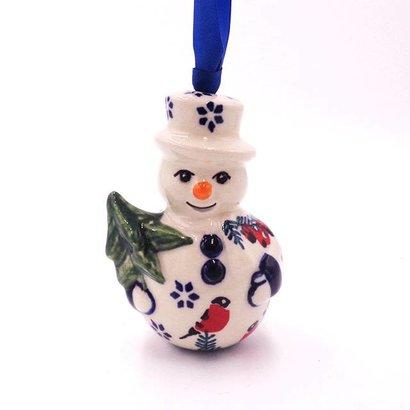 Carolers Snowman Ornament