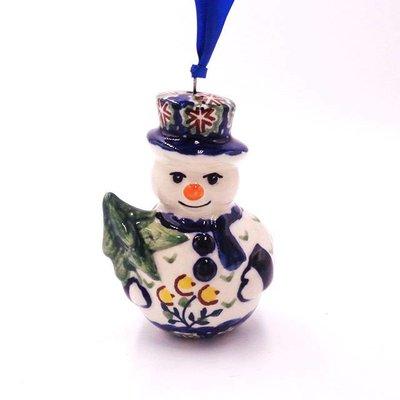 Mums Snowman Ornament
