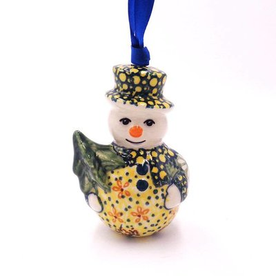 Roksana Snowman Ornament