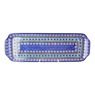 CA Aztec Sky Long  Rectangular Tray