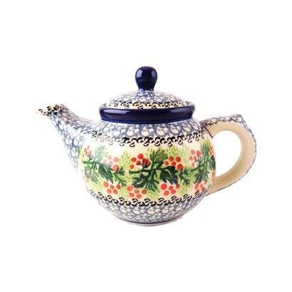 CA Holly Berry Teapot - 12 oz