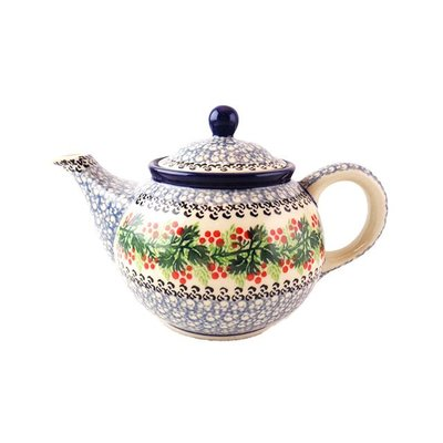 CA Holly Berry Teapot
