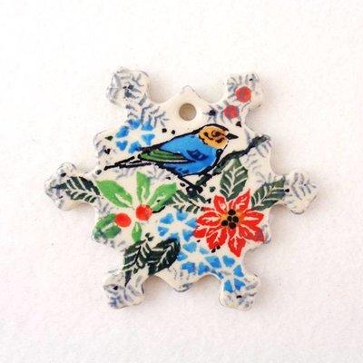 CA Christmas! Snowflake Ornament