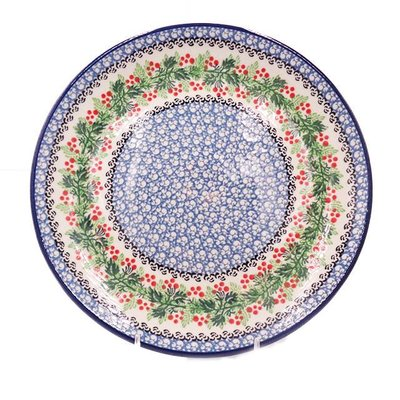 CA Holly Berry Dinner Plate