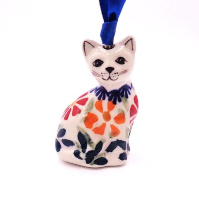 Marigolds Cat Ornament
