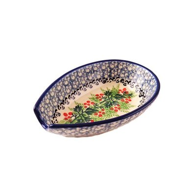 CA Holly Berry Spoon Rest