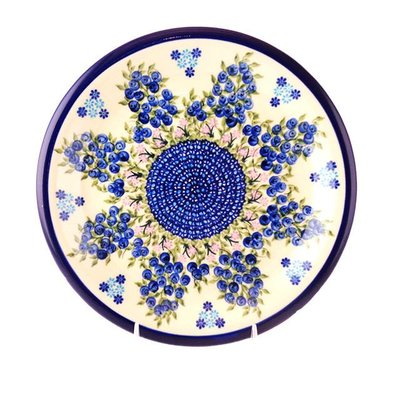 Kalich Blue Berry Dinner Plate 26