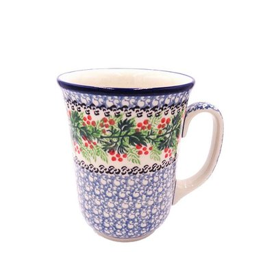 CA Holly Berry Bistro Mug